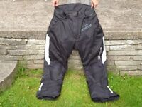 Mens G-Mac Urban Armour Motorbike Trousers, Size L