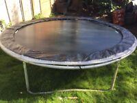 Garden trampolin