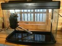 Fish box 64L fish tank with accessories