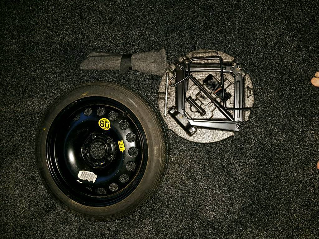 Vauxhall Astra J / Chevrolet /Opel 16inch Space saver wheel and accessories