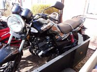 sinnis max two 125 2015 with 451 miles only
