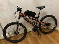 Boardman Full suspension electric bike - bafang BBSHD Custom Mid drive - limited edition - large