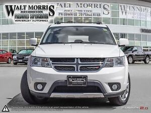 2017 DODGE JOURNEY GT: ACCIDENT FREE, LOCAL VEHICLE, 7 SEATER