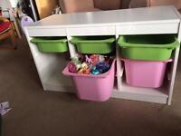 Ikea Trofast toy storage/drawers