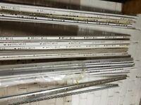 JOB LOT BRIGHT IDEAS PVC TILE / WATERTIGHT TRIM BEADS 6/9/12.5 MM WHITE CHROME