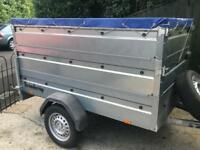 HUGE Brenderup trailer + high sides
