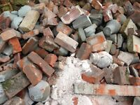 Rubble/broken bricks