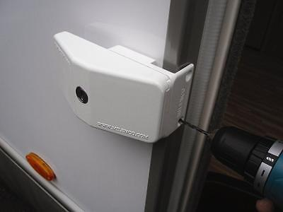 Milenco Caravan Motorhome Security Door Frame Sliding Lock