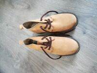 Brown Boots Hush Puppies