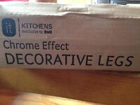 New decorative chrome legs