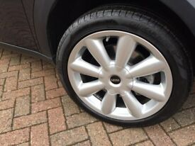 Pirelli Cinturato P7 Runflat Tyres, Set of 4, 225/45R18 91v, Nearly new 200 miles 8mm tread.