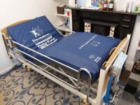 Sidhill Hospital Bed with Air Mattress, side bars and a spare mattress