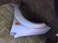 ford fiesta mk 6 passenger wing in silver,£20,no offers