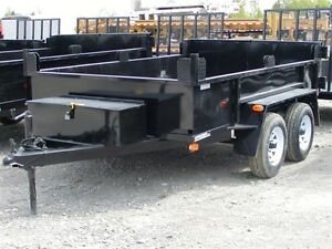 2017 Advantage 3.5 TON 6'x10' DUMP TRAILER