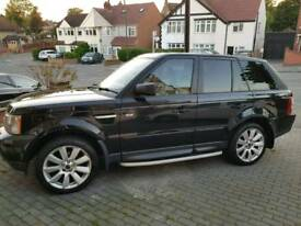 Range Rover Sport HSE 2006 with Private Plate