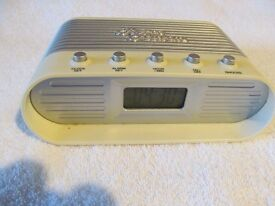 Retro Style Digital Alarm Clock