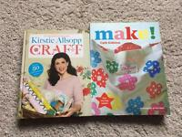 Cath kidson make and Kirsty allsopp craft books