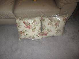 cushions unused