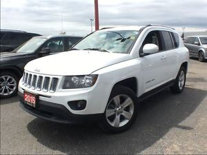 2015 Jeep Compass NORTH**4X4**BACK UP CAM**HEATED SEATS**