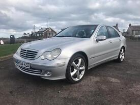 Mercedes Benz C180 Kompressor Avantgarde SE Long MOT