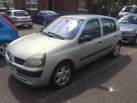 2003 Renault Clio 1.2 mint car 2keys moted only 79k bargain (corsa fiesta polo fabia Ibiza golf)