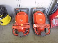 Flymo Hover Lawnmowers - Vision Compact 300 & 330 Hovermower £35 each
