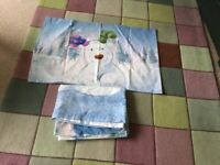 The snowman duvet cover and pillowcase brand new from Next