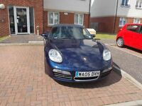 Porsche Boxter 2.7 cc blue manual year (05)