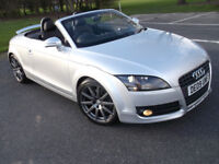 STUNNING AUDI TT 2.0 TDI QUATTRO CONVERTIBLE GREAT SPEC LOW MILAGE 2 KEYS 1 OWNER HEATED LEATHER ECT