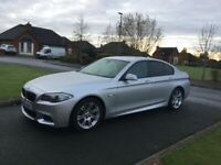 2012 BMW 520D M SPORT #REDUCED#AUTO#LEATHER#SATNAV#P/EX WELCOME