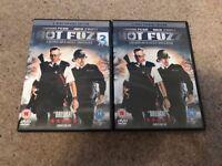 Hot fuzz films x 2