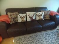 Sofa and chair from Barker and Stonehouse
