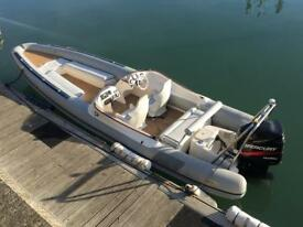 RIB BOAT 8.3 MTR 225 OPTIMAX