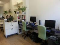 Desk spaces available in friendly studio in Lambeth Walk, Waterloo