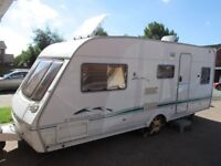 Swift Challenger 5 berth with end shut off bed room