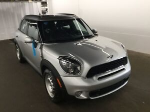 2014 MINI Cooper Countryman S ALL4  CUIR TOIT PANO BLUETOOTH À V