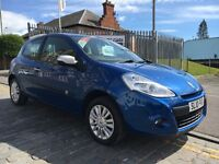 RENAULT CLIO 1.1 LIMITED EDITION I-MUSIC,10 PLATE 2010..FACELIFT MODEL...STUNNING MODERN CLIO.