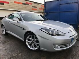 Hyundai Coupe 2.0 SIII Automatic Full Dealer Service History 3 Months Warranty Recently Serviced