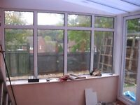 Conservatory, double glazed throughout, VGC.
