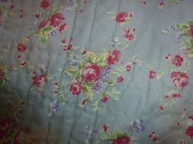 King Size Quilted Bedspread and Pillow Shams