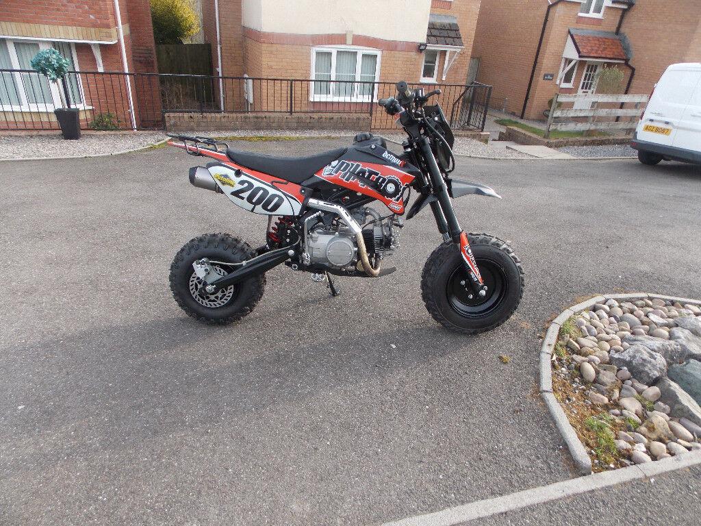 new demon x pit bike for sale fat boy.2017 model