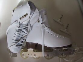 Off-ice skates UK4 (Graff boots)