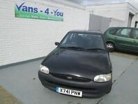 2000 Escort 1,6 black 43500 miles MOT June 16 London car, future classic car, no rust Belfast/Derry
