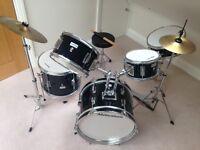 Junior Millenium 5 piece drum kit