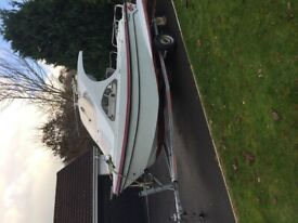 Redfin 6000 fishing boat Sea or lough boat Will also trade for a 4/6 berth cruiser