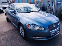 JAGUAR XF AUTOMATIC DIESEL 2.7 LEATHER SEATS SAT NAV 2008 HEATED SEATS