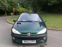 PEUGEOT 2006 AUTOMATIC 5DOOR 1 OWNER 75000 MILES 17 SERVICES HPI CLEAR EXCELLENT CONDITION