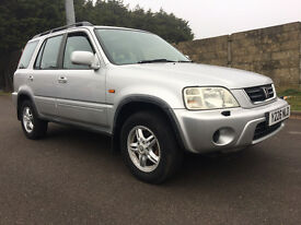 Honda Cr-V 2.0 ES Executive Station Wagon 5dr (sun roof, a/c)£1,495 p/x welcome 2001 (Y reg), SUV