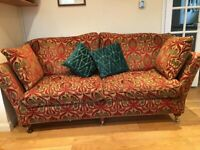 EXCELLENT CONDITION HOUSE OF FRASER SOFA's & CHAIR SET - (original price £3000)