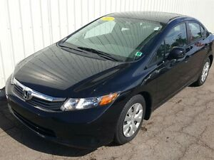 2012 Honda Civic LX AUTO/BLUETOOTH/AIR/PW/PL/BLUETOOTH
